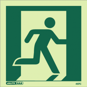 Distance factor Z for safety signs